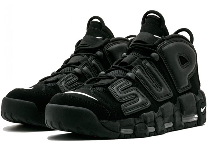 3e6505833 Nike Air More Uptempo X Supreme черные - купить в Казани