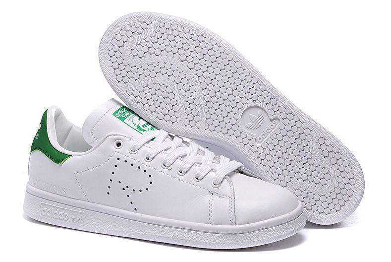 dd9d484b Raf Simons x Adidas Stan Smith белые с зеленым (35-44) — купить в ...